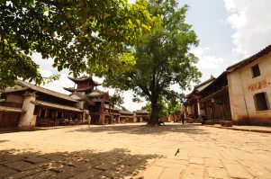 La place principale de Shaxi