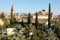 La Mezquita depuis l'Alcazar de los Reyes Cristianos