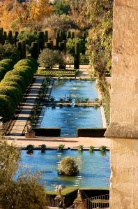 Les jardins de l'Alcazar de los Reyes Cristianos