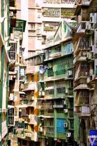 Walking through Macau
