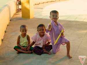 Children in Bagan