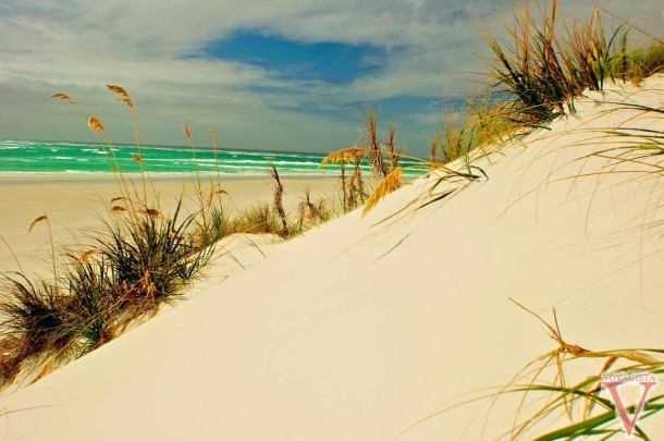 White Silica Beach