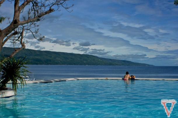sumilon island philippines swimming pool