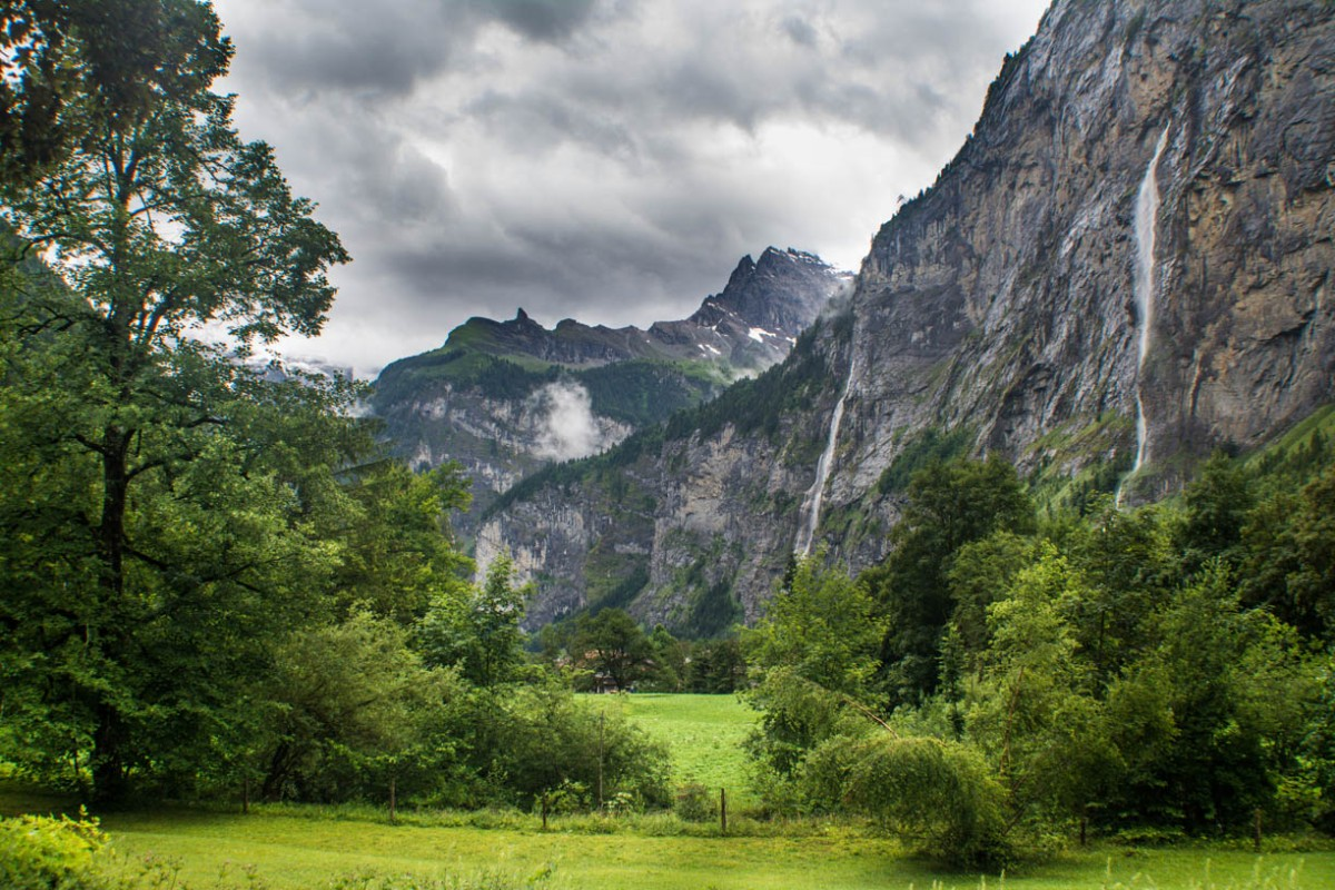 Switzerland: Truemmelbach, Lauterbrunnen's hidden mountain waterfall
