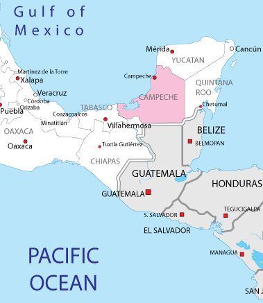 campeche map