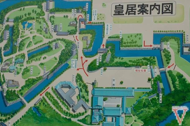 map tokyo palace