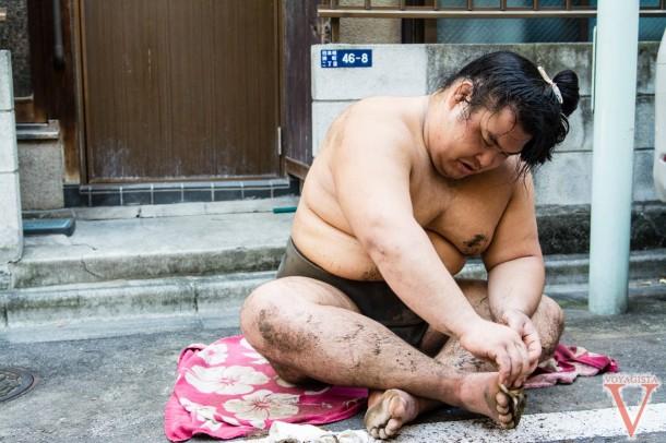 sumo training tokyo