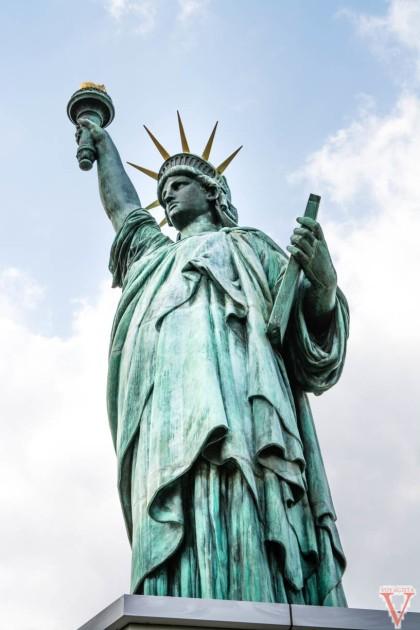 tokyo statue liberty odaiba