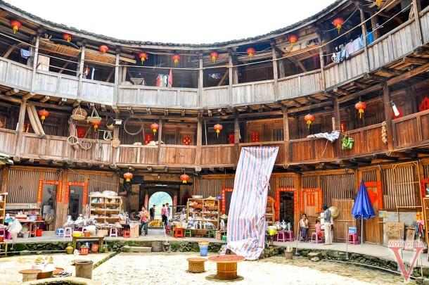tulou house fujian