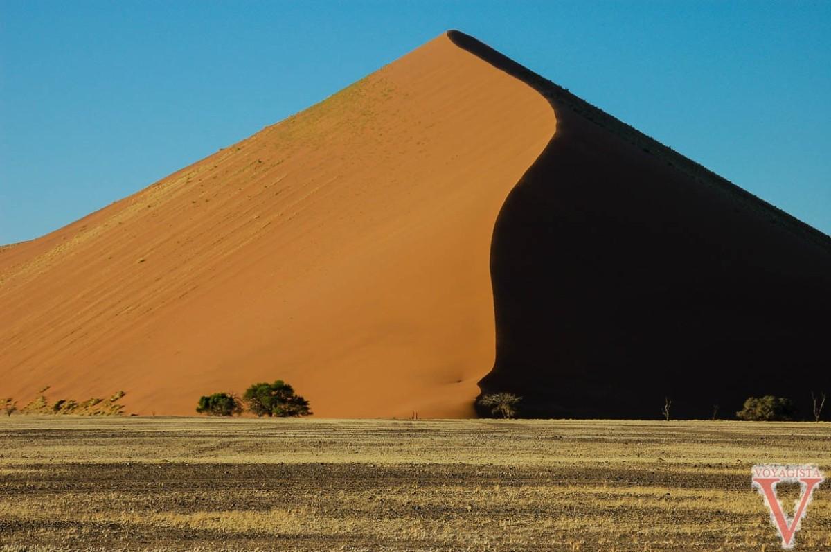 Amongst the Dunes in the Namibian Desert