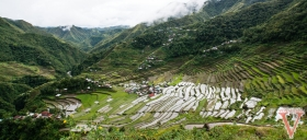 View of Batad in Banaue