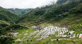 View of Batad in Banaue